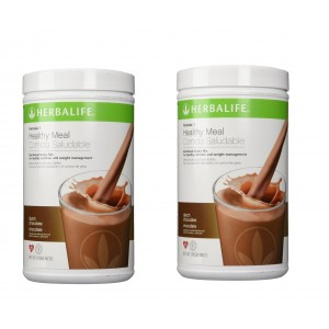 Buy Herbalife Meal Replacement Shake - Dutch Chocolate - 500 g each - Set of 2 - Nykaa