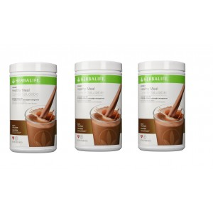 Buy Herbal Herbalife Meal Replacement Shake - Dutch Chocolate 500 g each - Set of 3 - Nykaa