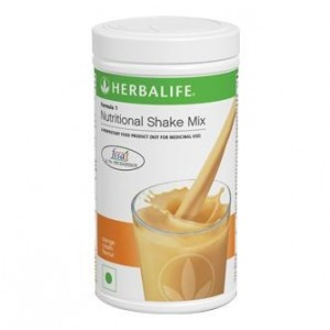 Buy Herbalife Formula 1 Nutritional Shake Orange Cream - Pack of 2 - Nykaa