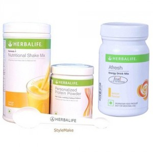 Buy Herbalife Weight Loss Combo - Mango Protein Powder & Afresh Peach - Nykaa