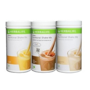 Buy Herbal Herbalife Meal Replacement Combo - French Vanilla Dutch Chocolate & Mango 500 g each - Nykaa