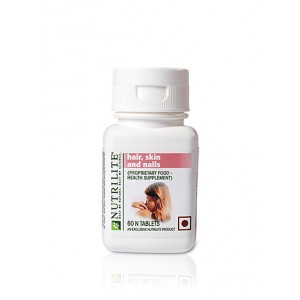 Buy Amway Nutrilite Hair Skin & Nails - 60 Tablets - Nykaa