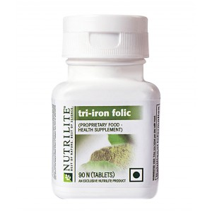 Buy Amway Nutrilite Tri Iron Folic - 90 Tablets - Nykaa