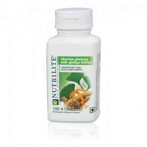 Buy Amway Nutrilite Siberian Ginseng With Ginkgo Biloba - 100 Tablets - Nykaa