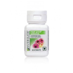 Buy Amway Nutrilite Triple Guard Echinacea - 60 Tablets - Nykaa