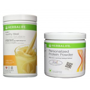 Buy Herbalife Weight Loss Combo - Orange Cream & Protein Powder - Nykaa