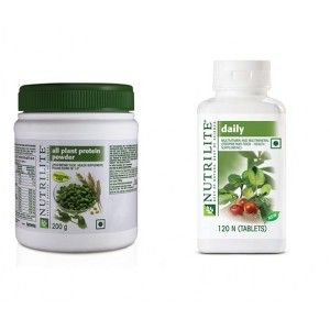 Buy Amway Protein Powder-200 grms, Daily-120 - Combo of 2 - Nykaa