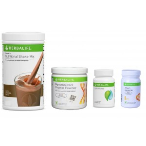 Buy Herbalife Weight Loss Pack- Dutch Chocolate, Cell-U-Loss, Protein Powder & Lemon  - Nykaa