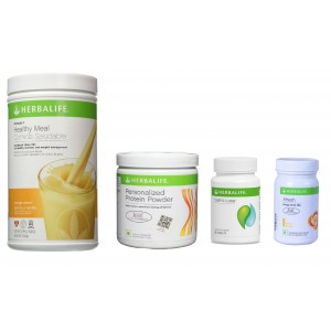 Buy Herbalife Weight Loss Pack- Orange Cream, Cell-U-Loss, Protein Powder & Lemon  - Nykaa