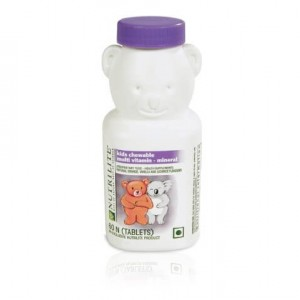 Buy Amway Nutrilite Kids Chewable Multivitamin (60 Tablets) - Nykaa