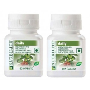 Buy Amway Nutrilite Daily Tablets (Pack Of 2) - Nykaa