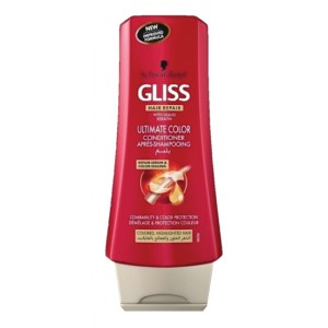 Buy Schwarzkopf Gliss Hair Repair with Liquid Keratin Ultimate Color Conditioner - Nykaa