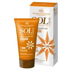 Buy Bottega Di Lungavita Sol Leon Suntan Cream Face Spf 20 - Nykaa