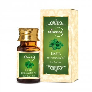 Buy St.Botanica Basil Pure Aroma Essential Oil - Nykaa