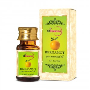 Buy Herbal St.Botanica Bergamot Pure Aroma Essential Oil - Nykaa