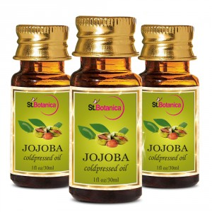 Buy St.Botanica Jojoba Pure Coldpressed Carrier Oil - 30ml x 3 - Nykaa