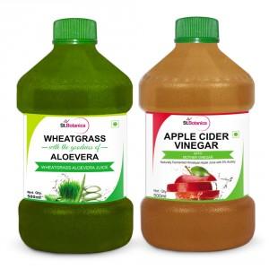Buy St.Botanica Wheatgrass Juice With Aloevera + Apple Cider Vinegar - Nykaa