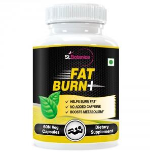 Buy St.Botanica Fat Burn+ With Garcinia, Green Tea & Raspberry Ketones - 60 Veg Caps. - Nykaa