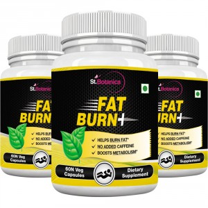 Buy St.Botanica Fat Burn+ Supplement - Pack Of 3 - Nykaa