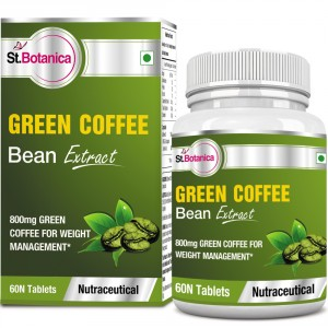 Buy St.Botanica Green Coffee Bean Extract 800mg - 60 Tablets - Nykaa