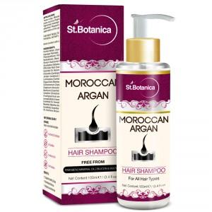 Buy St.Botanica Moroccan Argan Hair Shampoo (SLS Paraben Free) - Nykaa