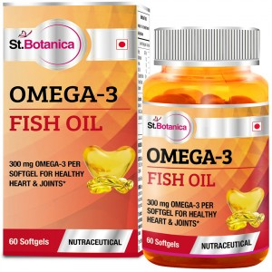 Buy St.Botanica Omega 3 Fish Oil - 60 Softgels - Nykaa