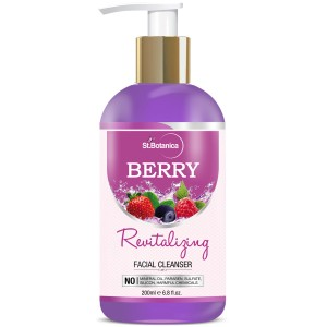 Buy St.Botanica Berry Revitalizing Facial Cleanser - Nykaa