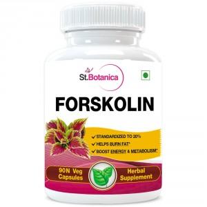 Buy St.Botanica Forskolin 500mg Extract 90 Veg Caps. - Nykaa