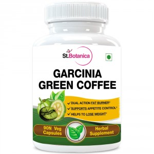 Buy St.Botanica Garcinia Green Coffee 500mg Extract - 90 Veg Caps. - Nykaa