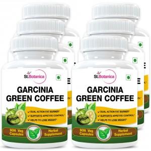 Buy St.Botanica Garcinia Green Coffee 500mg Extract - 90 Veg Caps. x 6 - Nykaa