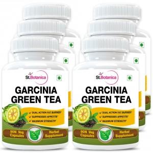 Buy St.Botanica Garcinia Green Tea 500mg Extract - 90 Veg Caps. x 6 - Nykaa