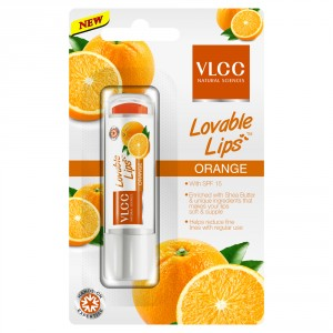 Buy VLCC Lovable Lip Balm Orange - Nykaa