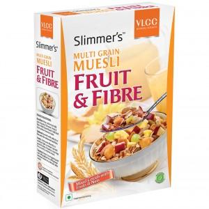 Buy VLCC Slimmers Multi Grain Muesli Fruit & Fibre + Free 25% - Nykaa