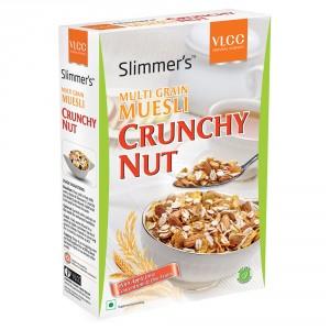 Buy VLCC Slimmers Multi Grain Muesli Crunchy Nut + Free 25% - Nykaa