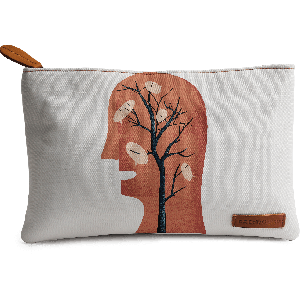 Buy DailyObjects Unspoken Thoughts Carry-All Pouch Medium - Nykaa