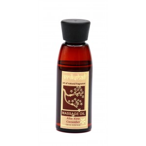 Buy Vrikshali Aloevera Cucumber Massage Oil - Nykaa