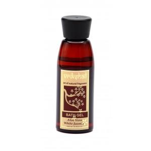 Buy Vrikshali Aloevera White Jasmine Bath Gel - Nykaa