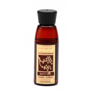 Buy Vrikshali Geranium Rose Bath Gel - Nykaa