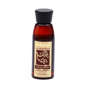 Buy Vrikshali Geranium Rose Face Wash - Nykaa