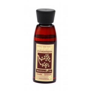 Buy Vrikshali Sandal Turmeric Massage Oil - Nykaa