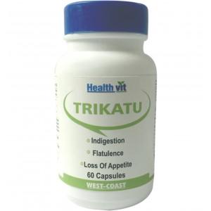 Buy HealthVit Trikatu 60 Capsules - Nykaa