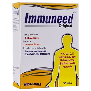 Buy West-Coast Immuneed Original Vitamin D3,C,E Selenium & Zinc 30 Tablets - Nykaa