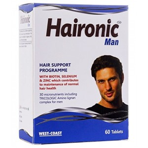 Buy West Coast Haironic Man Hair Support Programme 60 Tablets - Nykaa