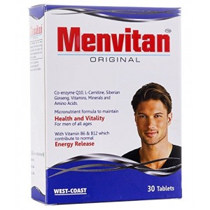 Buy Herbal West Coast Menvitan Original Multivitamin 30 Tablets - Nykaa