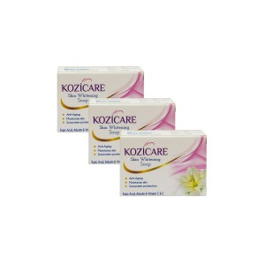 Buy West Coast Kozicare Skin Whitening Soap (Pack Of 3) - Nykaa