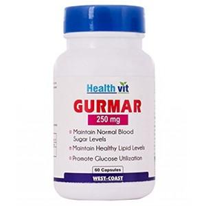Buy HealthVit Gurmar 250 Mg 60 Capsules - Nykaa