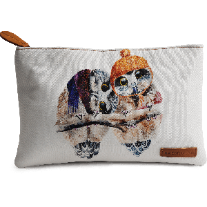 Buy DailyObjects Winter Owls Carry-All Pouch Medium - Nykaa