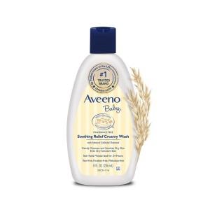 Buy Aveeno Baby Soothing Relief Creamy Wash - Nykaa