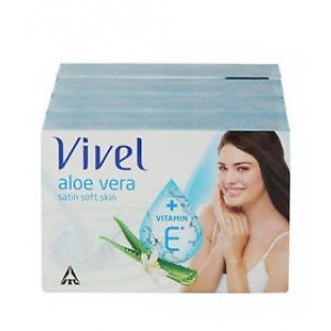 Buy Herbal Vivel Satin Soft Soap - 125gm (Set Of 3) - Nykaa