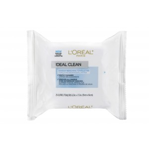 Buy L'Oreal Paris Ideal Skin Makeup Removing Towelettes (Makeup Remover Wipes) - Nykaa